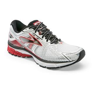 Brooks Ravenna 6 White / High Risk Red / Black