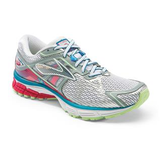 Brooks Ravenna 6 White / Raspberry / Paradise Green
