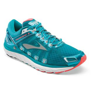Brooks Transcend 2 Caribbean / Poppy / White