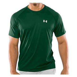 Under Armour Tech T-Shirt Forest Green / White
