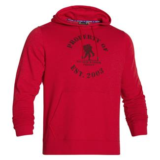 Under Armour WWP Property Of Fleece Hoodie Red / Black