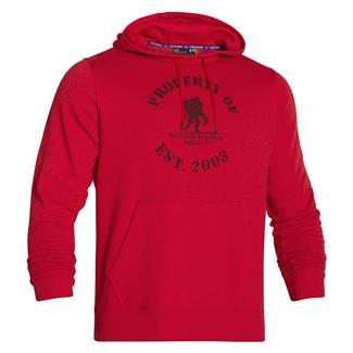 Under Armour WWP Property Of Fleece Hoodie Red / Black