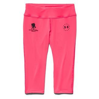 Under Armour WWP Capri Pants Pink Shock / Black