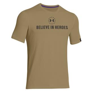 Under Armour WWP Believe In Heroes T-Shirt Deer Hide / Black