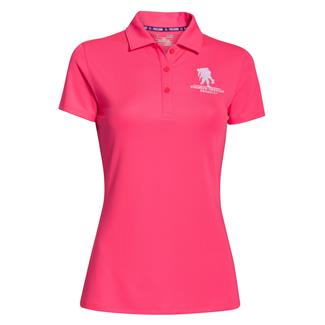Under Armour WWP Polo Pink Shock / White
