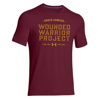 Under Armour WWP Barbed Wire T-Shirt Sherry / Ochre
