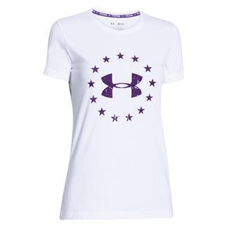 Under Armour Freedom T-Shirt White / Purpleheart