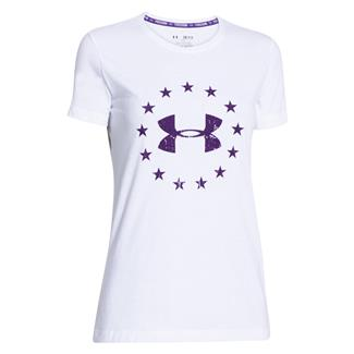 Under Armour Freedom T-Shirt White / Purpleheart