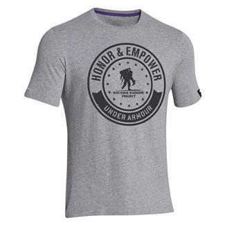 Under Armour WWP Circle T-Shirt True Gray Heather / Black