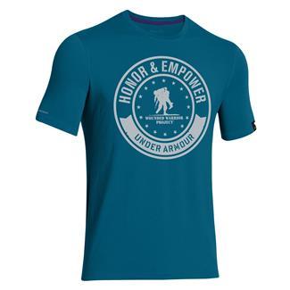 Under Armour WWP Circle T-Shirt Sapphire Lake / Elemental