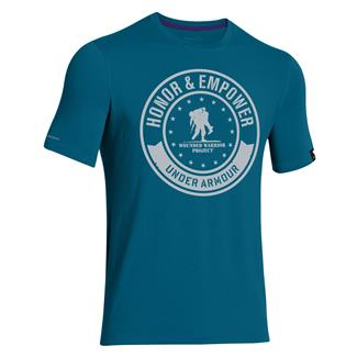 Under Armour WWP Circle T-Shirt Sapphire Lake / Elemental