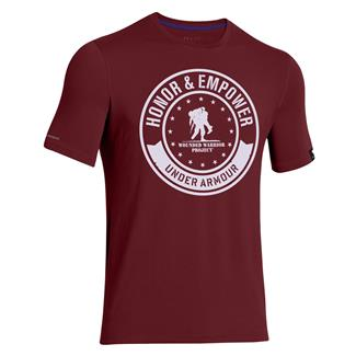Under Armour WWP Circle T-Shirt Sherry / White