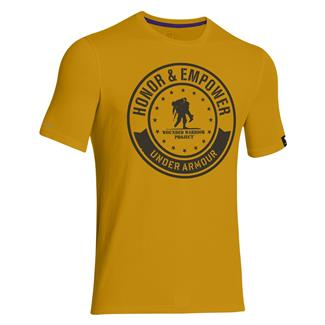 Under Armour WWP Circle T-Shirt Ochre / Black