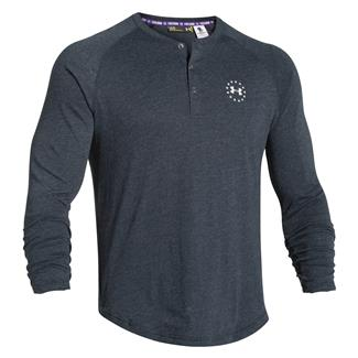 Under Armour WWP Tri-blend Long Sleeve T-Shirt Black / White