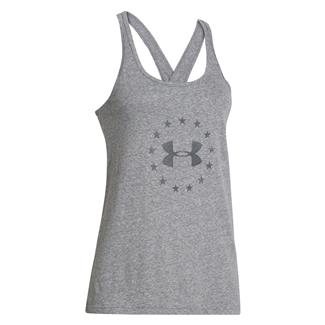 Under Armour Freedom Tri-blend Tank Carbon Heather