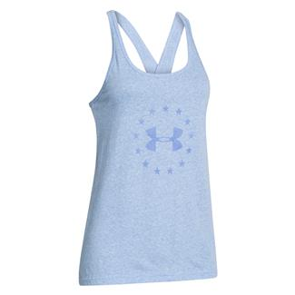 Under Armour Freedom Tri-blend Tank Picasso Blue