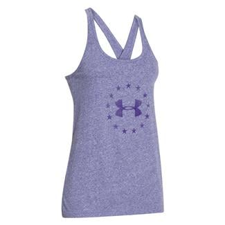 Under Armour Freedom Tri-blend Tank Purpleheart