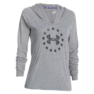Under Armour Freedom Tri-blend Hoodie Carbon Heather