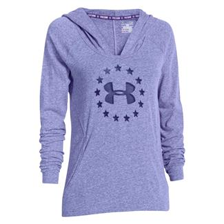 Under Armour Freedom Tri-blend Hoodie Purpleheart