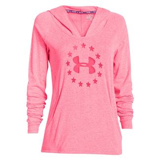 Under Armour Freedom Tri-blend Hoodie Pink Shock
