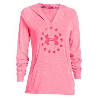 Under Armour Freedom Tri-blend Hoodie Pink Shock
