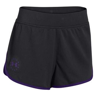 Under Armour Freedom Shorts Black / Purpleheart