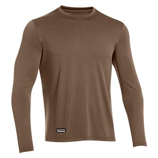 Under Armour Tactical Tech Long Sleeve T-Shirt Army Brown