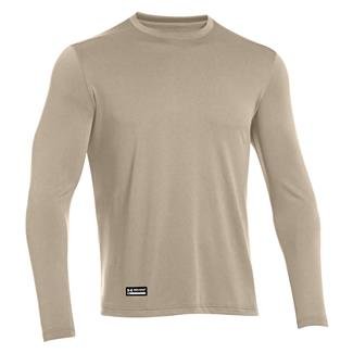 Under Armour Tactical Tech Long Sleeve T-Shirt Desert Sand