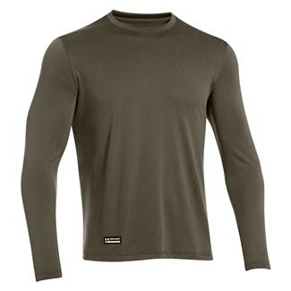 Under Armour Tactical Tech Long Sleeve T-Shirt Marine OD Green