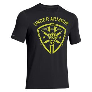 Under Armour Black Ops Fist T-Shirt Black / Yellow Ray