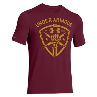 Under Armour Black Ops Fist T-Shirt Sherry / Ochre
