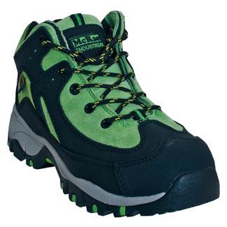"""McRae Industrial 4"""" Hiker Met Guard ST Black / Green"""