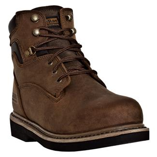 "McRae Industrial 6"" Lace-Up Chestnut"
