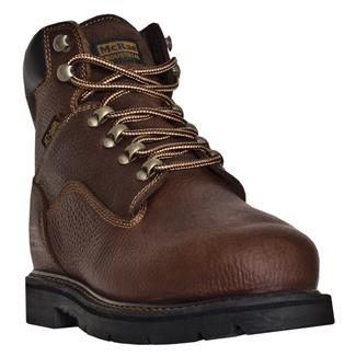 "McRae Industrial 6"" Lace-up Met Guard ST Cognac"