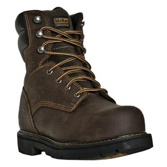 "McRae Industrial 8"" Lace-Up ST Chestnut"