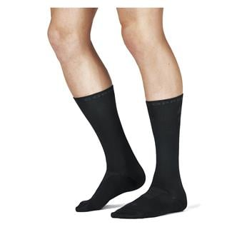 Tommie Copper Recovery Compression Dress Crew Socks Black