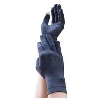 Tommie Copper Recovery Compression Full Finger Gloves Black