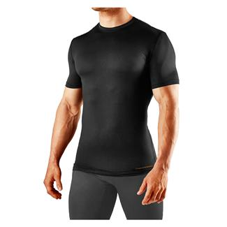 Tommie Copper Recovery Compression Crew Neck T-Shirt Black