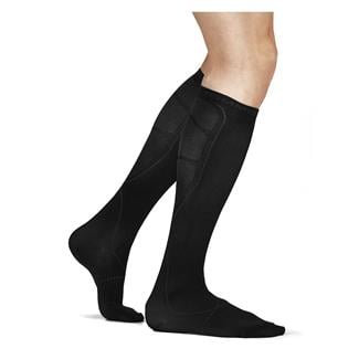 Tommie Copper Recovery Over The Calf Compression Dress Socks Black