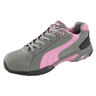 Puma Safety Balance Low ST Pink / Gray