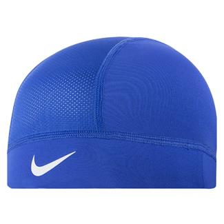 NIKE Pro Combat Hypercool Skull Cap Game Royal