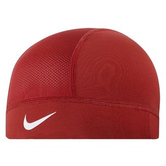 NIKE Pro Combat Hypercool Skull Cap University Red