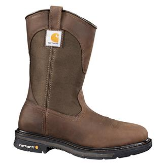 "Carhartt 11"" Wellington Square Toe ST Bison Brown"