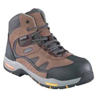 "Rockport Works 6"" Propel Leather CT WP Brown / Black"