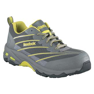 Reebok Exline Athletic Oxford CT Gray / Lime Green