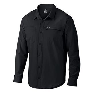 Oakley Long Sleeve Agility Woven Shirt Jet Black