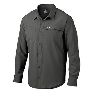 Oakley Long Sleeve Agility Woven Shirt Shadow