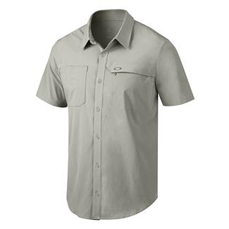 Oakley Agility Woven Shirt Stone Gray