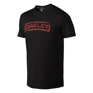 Oakley Tab 2 T-Shirt Jet Black