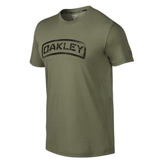 Oakley Tab 2 T-Shirt Worn Olive